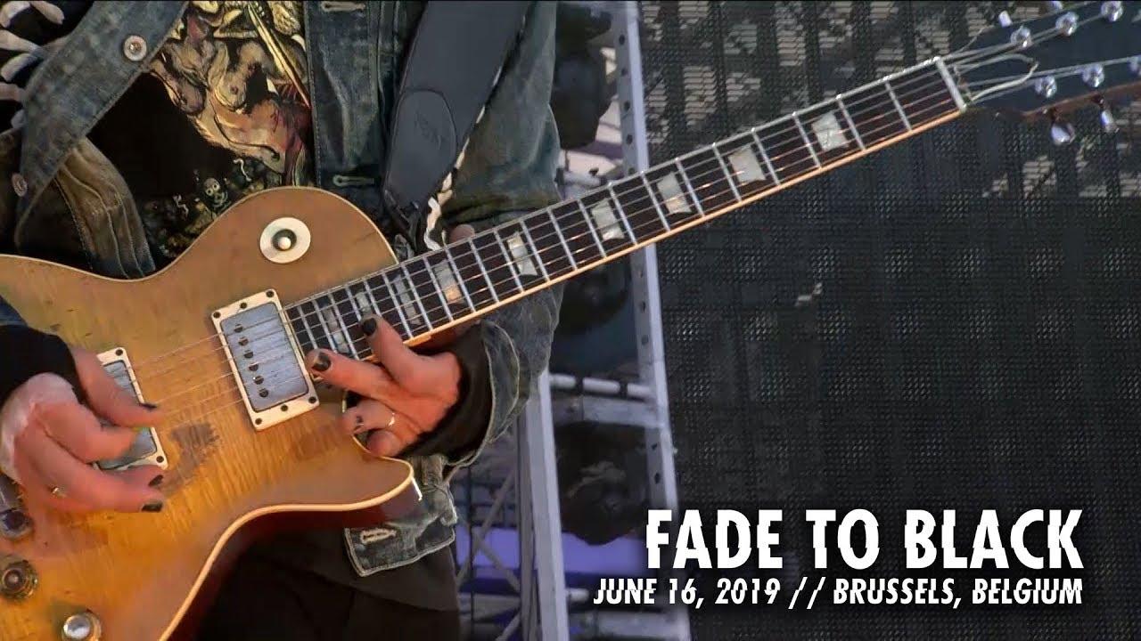 Metallica: Fade to Black (Brussels, Belgium — June 16, 2019)