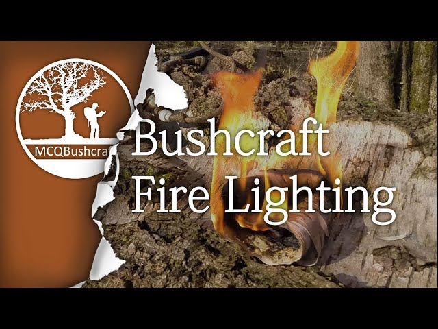 Bushcraft Fire Lighting Flint & Steel, Fire Piston, Ferro Rod & Bow Drill