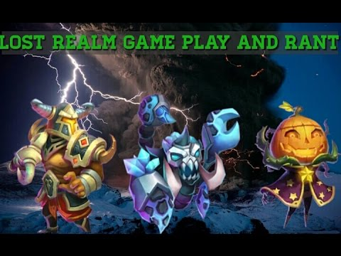 Castle Clash Lost Realm Game Play And Rant!