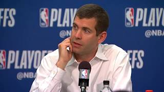 Brad Stevens Postgame Interview - Game 3 | Celtics vs Sixers | May 5, 2018 | 2018 NBA Playoffs