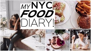 FOOD and FASHION in NYC! | Instagram spots to eat!
