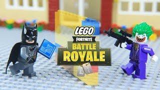 Lego Fortnite Superheros vs Villains DC universe Episode 02