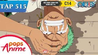 One Piece Tập 515 - Tôi Sẽ Mạnh Hơn Mạnh Hơn Nữa! Lời Thề Của Zoro Với Thuyền Trưởng - Đảo Hải Tặc