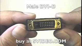 Male DVI-D to Female HDMI (35711A)