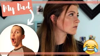 My Dad Does My Voiceover! | Makeup Routine