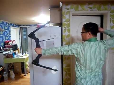 Homemade Compound Bow - 3 (Shooting