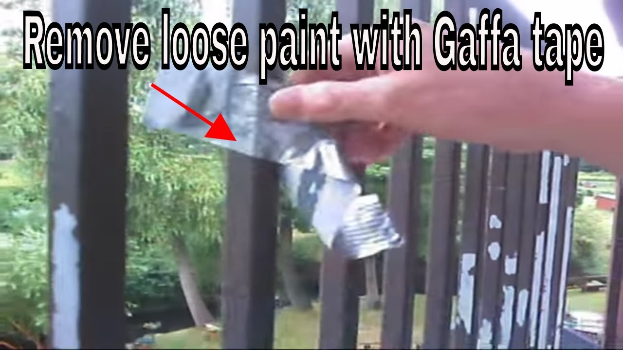 Top Tip For Painting Metal Railings Youtube