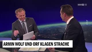 Nach Armin Wolf: ORF klagt Vizekanzler Strache