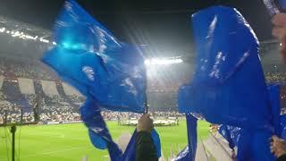 LDC 8ème : OL-Barça (19.02.19) Entrée des joueurs