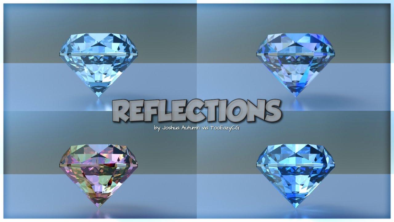 Creating FAKE reflections in Blender Cycles Render tutorial