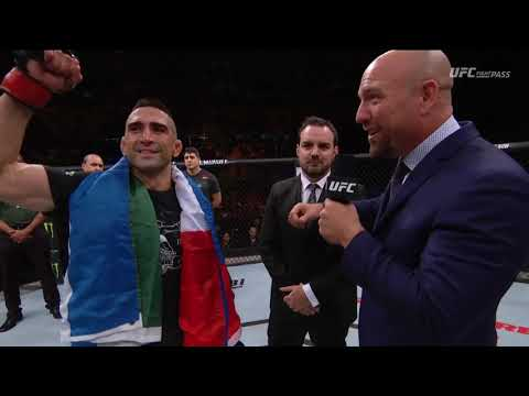 Fight Night Argentina: Ricardo Lamas Octagon Interview