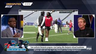 Download Whose side are you on: Cam Newton's or Kelvin Benjamin's? |  Undisputed 08/10/2018 Mp3 and Videos