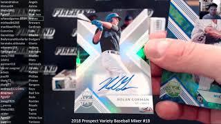 2018 Prospect Variety Baseball Mixer #18 ~ 2/20/19