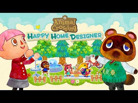 CUTE HOME DESIGNER! - Animal Crossing Happy Home Designer