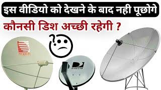 Types Of Satellite Dish Antenna | Satellite Dish Antenna Explained|Ku/C Band Satellite Dish Antenna
