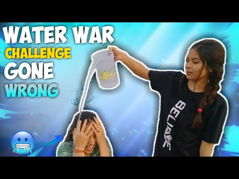 water war challenge   DK Tales   funny   video   funny video
