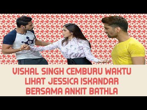 Vishal Singh Cemburu Waktu Lihat Jessica Iskandar Bersama Ankit Bathla  | Pesbukers ANTV