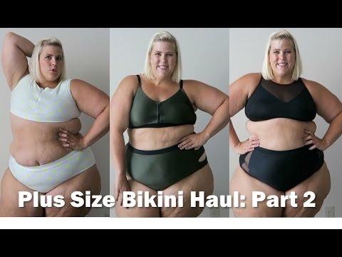 Plus Size Fashion Swimsuit + Bikini Haul 2016: Part 2