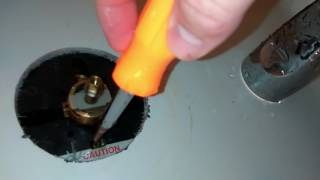 How to fix when only Hot Water comes out of the bath faucet.