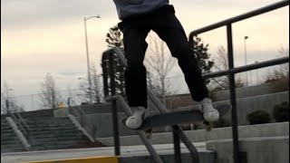 My 1 Year Skateboarding Progression.
