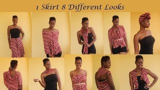 8 Different Looks From 1 Skirt