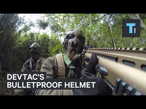 Thumbnail: British special forces are testing out a bulletproof combat helmet that looks like Boba Fett's