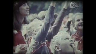 Детские праздники в СССР.1984 год.Документальное видео.