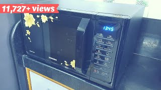 Unboxing and review of Samsung 28 L Convection Microwave Oven  माइक्रोवेव ओवन