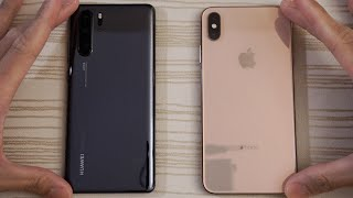 Huawei P30 Pro vs iPhone XS Max - Speed Test!