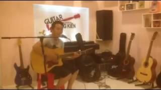 Lệ Đêm guitar cover.