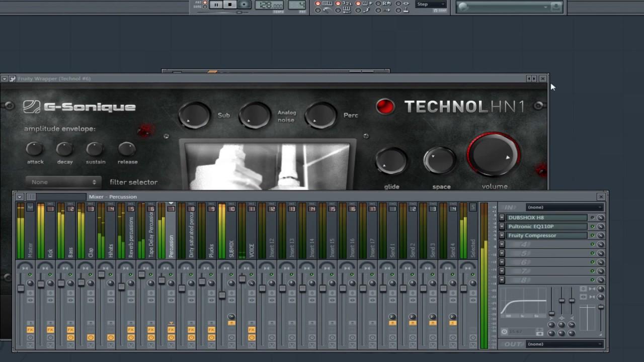 TECHNOL HN1 - Plugin for Techno, Minimal techno, Industrial