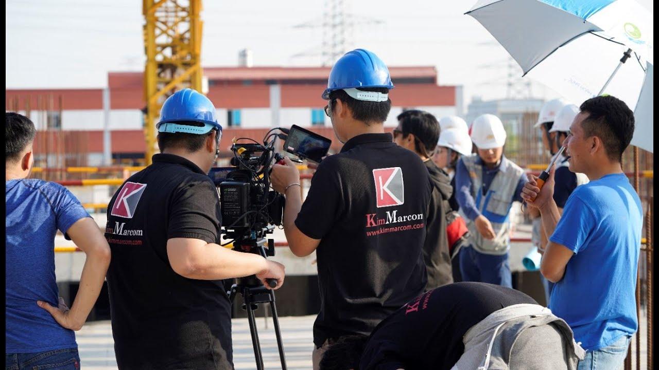 Hậu trường sản xuất TVC Phim Quảng cáo Phim tự giới thiệu doanh nghiệp CBM kỷ niệm 40 năm Kim Marcom