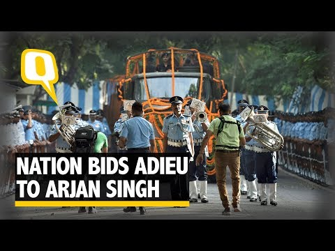 India Bids Adieu to IAF Marshal Arjan Singh in Full State Honour