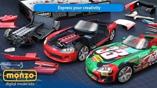 Monzo Sport Car Build - Iphone/ipad Gameplay Trailer