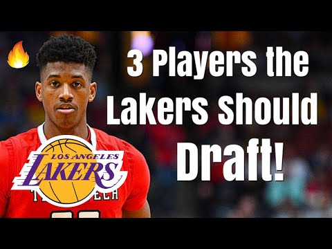 3 Players the Los Angeles Lakers Should DRAFT With the #4 Overall Pick! | No Zion Williamson!
