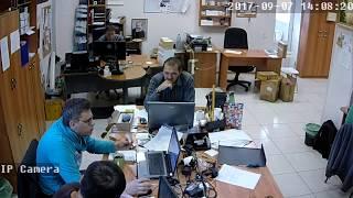 Фрагмент записи видео с камеры Link HR06-8G