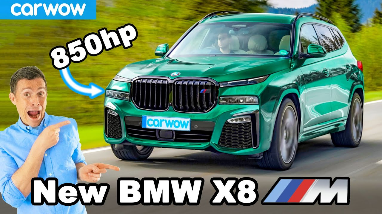 Download New BMW X8M - the 850hp CRAZY SUV!