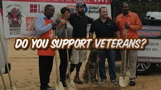 Wounded Warrior Gets Dream Home! Watch & Subscribe