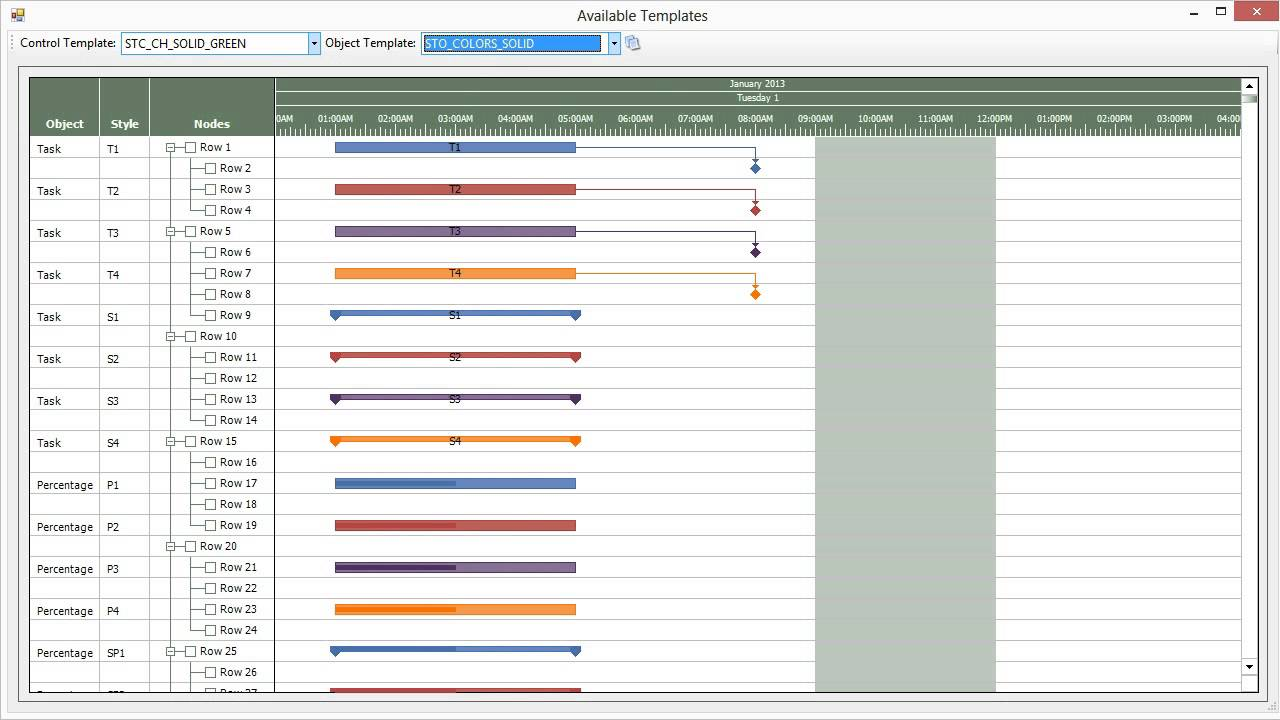 also gantt chart available templates activegantt youtube rh