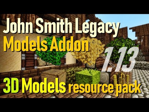 How to get 3D Textures in Minecraft 113 - download install 3D