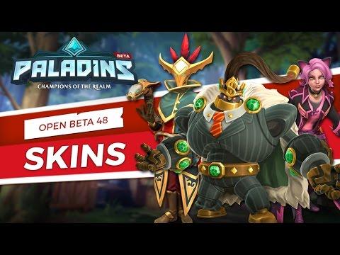 Paladins - Skin Spotlight - Open Beta 48