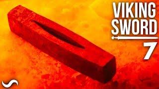 MAKING A VIKING SWORD!!! Part 7