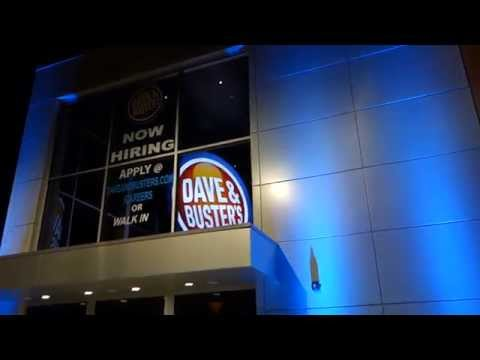 The New Dave & Busters In Woburn, MA (and A Walkthrough Of The Place)