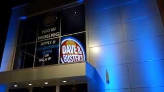 The New Dave & Busters In Woburn, Ma  And A Walkthrough Of The Place