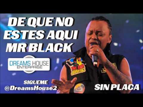 Mr Black DE QUE NO ESTES AQUI Letra )