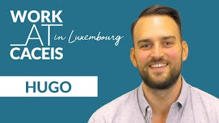 WORK AT CACEIS in Luxembourg! Rencontrez Hugo, Business Analyst KPI