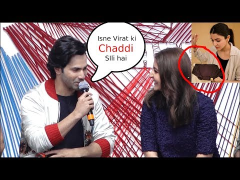 varun dhawan Making Fun of Virat Kohli In Front Of Anushka sharma sui dhaga  launch