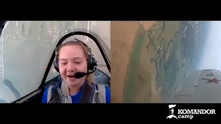 Девушка пилот 👩✈️ самолета ✈️