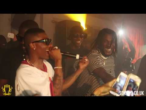 Wizkid brings out Burna Boy in London #SFTOS Party | @wizkidayo @burnaboy