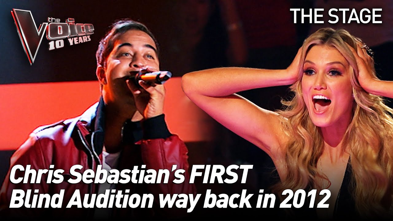 Chris Sebastian sings 'Halo' by Beyoncé in season 1 of The Voice Australia | The Voice Stage #29